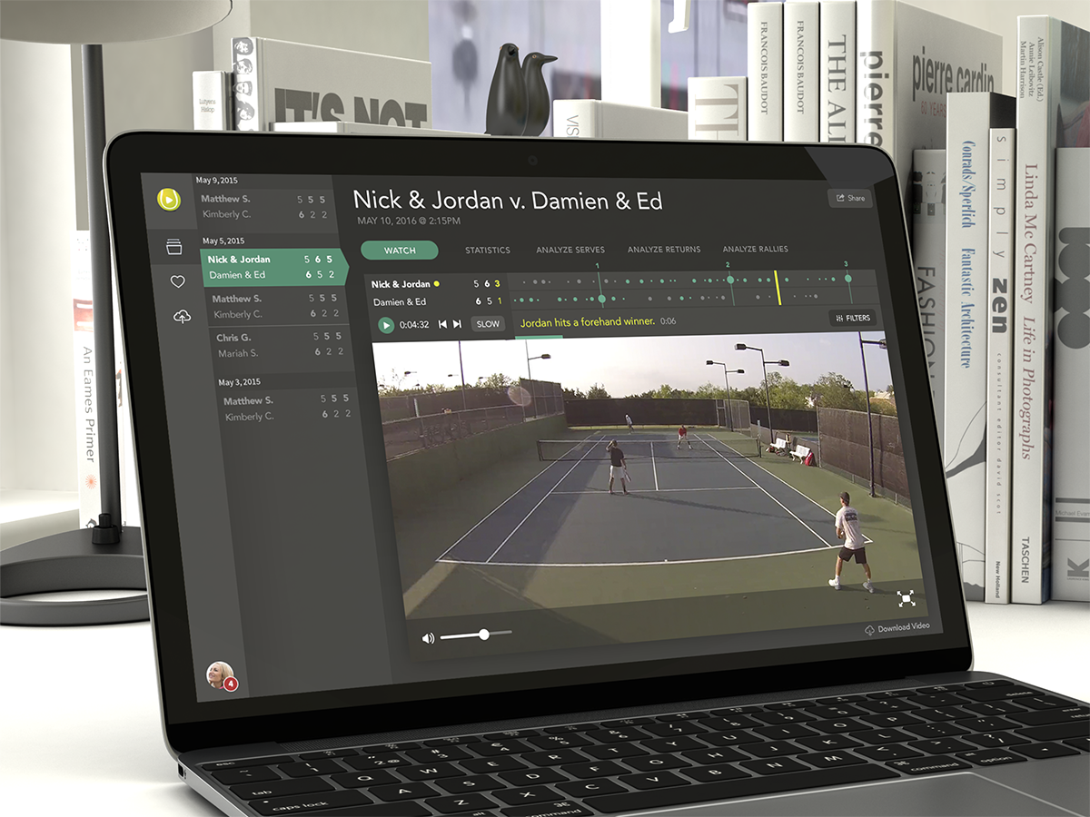Cizr Tennis UI